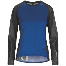 assos Trail Maillot manga larga Mujer, twilight blue